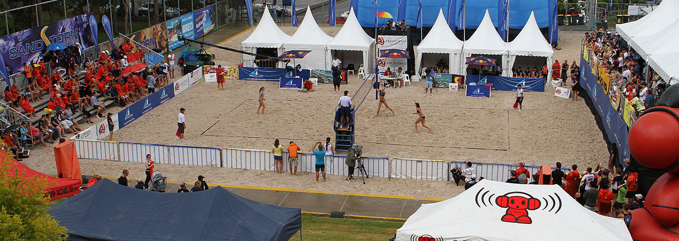 The Beach Volleyball Complex